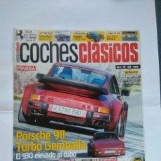 Coches: REVISTA COCHES CLASICOS Nº 122 PORSCHE 911 TURBO GEMBALLA CIZETA SUNBEAM RAPIER AUDI RS2 RS4 BUGATTI. Lote 125343314