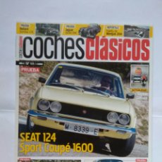 Coches: REVISTA COCHES CLASICOS Nº 111 SEAT 124 SPORT COUPÉ JAGUAR XK140 LOTUS ELAN OPEL MONZA RELIANT. Lote 126104655