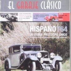 Coches: REVISTA EL GARAJE CLÁSICO NUMERO 9 1 AL 15 ABRIL 2008. Lote 126161731