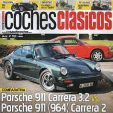Coches: COCHES CLASICOS N. 155 - EN PORTADA: COMPARATIVA PORSCHE 911 (NUEVA). Lote 126164519