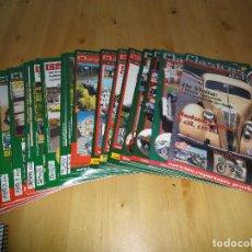 Coches: LOTE REVISTAS CLASICOS DEL MOTOR (1999-2002). Lote 127783271
