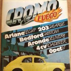 Auto: REVISTA CROMO FUEGO Nº 5. Lote 128161120