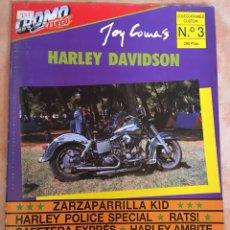 Coches: REVISTA CROMO FUEGO COLECCIONABLE CUSTOM HARLEY DAVIDSON Nº 3. Lote 128161795