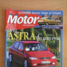 Coches: REVISTA MOTOR MUNDIAL. Nº 615. ABRIL 1998. Lote 128346391