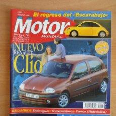 Coches: REVISTA MOTOR MUNDIAL. Nº 613. FEBRERO 1998. Lote 128347099
