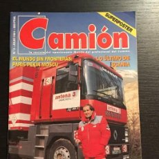 Coches: CAMION Nº 4 JULIO 1991 - SCANIA PARIS MOSCU COLECCIONABLE KENWORTH VOLVO - REVISTA. Lote 128489811