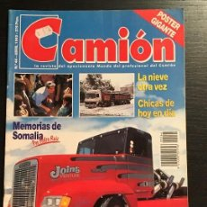 Coches: CAMION Nº 44 ABRIL 1993 - IVECO PEGASO EUROTECH RENAULT AE 420 TI - REVISTA. Lote 128490179