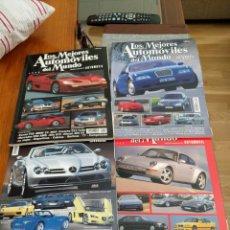 Coches: REVISTA LOS MEJORES AUTOMÓVILES DEL MUNDO 1994, 1996, 1999, 2000.. Lote 128555763