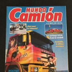Coches: MUNDO CAMION Nº 2 MAYO 1989 - CAMIONES - REVISTA. Lote 128567983