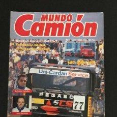 Coches: MUNDO CAMION Nº 5 SEPTIEMBRE 1989 - CAMIONES PEGASO BERLIET RENAULT - REVISTA. Lote 128568231