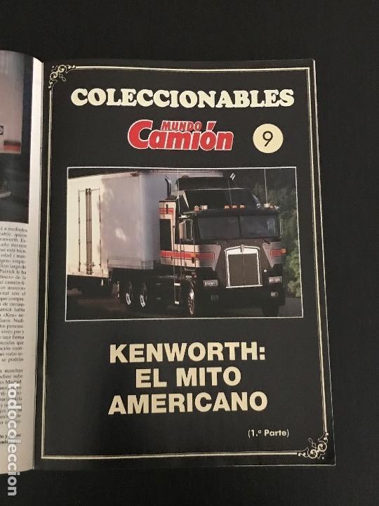 Coches: MUNDO CAMION Nº 20 ENERO 1991 - CAMIONES RENAULT 340 COLECCIONABLE KENWORTH - REVISTA - Foto 3 - 128569747