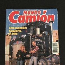 Coches: MUNDO CAMION Nº 20 ENERO 1991 - CAMIONES RENAULT 340 COLECCIONABLE KENWORTH - REVISTA. Lote 128569747