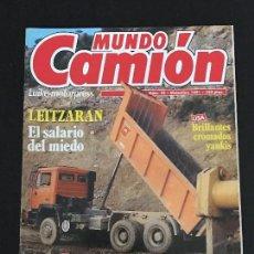 Coches: MUNDO CAMION Nº 25 DICIEMBRE 1991 - CAMIONES DAF PEGASO EUROCARGO VOLVO NL BERLIET - REVISTA. Lote 128570455
