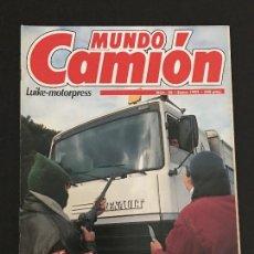 Coches: MUNDO CAMION Nº 26 ENERO 1992 - CAMIONES RENAULT G340 - REVISTA. Lote 128570603