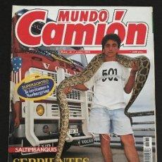 Coches: MUNDO CAMION Nº 31 JUNIO 1992 - CAMIONES VOLVO SALON HANNOVER COLECCIONABLE - REVISTA. Lote 128571163