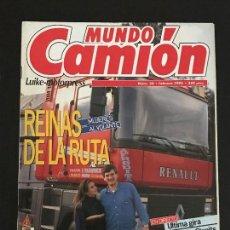 Coches: MUNDO CAMION Nº 38 FEBRERO 1993 - CAMION MAGAZINE Nº 1 - CAMIONES VOLVO F12 CARRERAS - REVISTA. Lote 128571795
