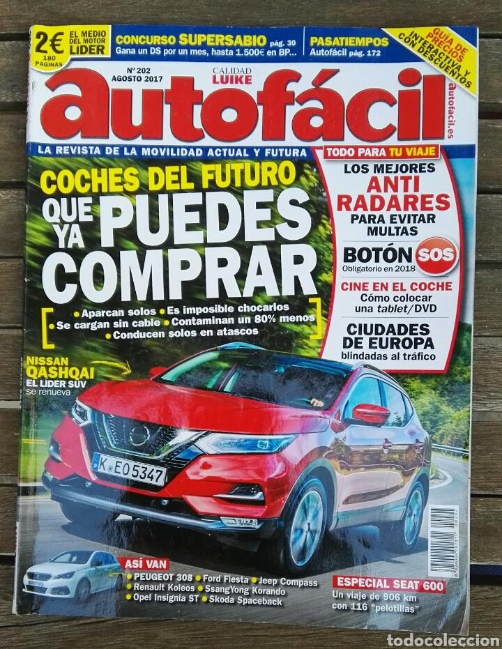 REVISTA AUTOFÁCIL AGOSTO 2017 (Coches y Motocicletas Antiguas y Clásicas - Revistas de Coches)