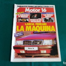 Coches: REVISTA MOTOR 16 Nº 168 (10-01-1987). Lote 129024095