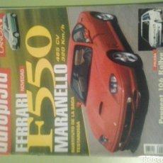 Coches: AUTOPISTA N 1932 AÑO 1996 REVISTA DE COCHES FERRARI F 550 MARANELLO. Lote 244872925