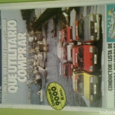 Coches: MOTOR 16 N 72 AÑO 1985 REVISTA DE COCHES MOTOR16. Lote 129483218