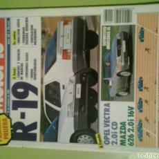 Coches: MOTOR 16 N 260 AÑO 1988 REVISTA DE COCHES MOTOR16. Lote 129483239