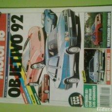 Coches: MOTOR 16 N 255 AÑO 1988 REVISTA DE COCHES MOTOR16. Lote 129483244