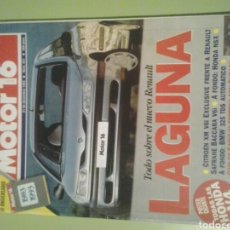 Coches: MOTOR 16 N 531AÑO 1993 REVISTA DE COCHES MOTOR16 RENAULT LAGUNA. Lote 129483302