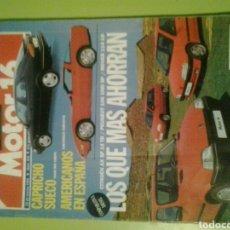Coches: MOTOR 16 N 545 AÑO 1994 REVISTA DE COCHES MOTOR16. Lote 129483327