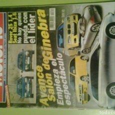 Coches: MOTOR 16 N 854 AÑO 2000 REVISTA DE COCHES MOTOR16. Lote 129483347
