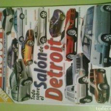 Coches: MOTOR 16 N 901 AÑO 2001 REVISTA DE COCHES MOTOR16. Lote 129483358