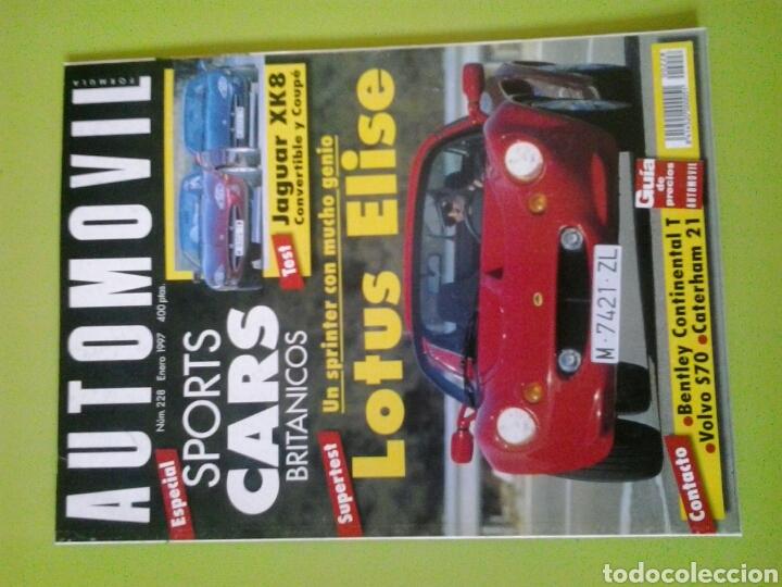 AUTOMÓVIL N 228 AÑO 1997 REVISTA DE COCHES (Coches y Motocicletas Antiguas y Clásicas - Revistas de Coches)