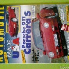 Coches: AUTOMÓVIL N 229 AÑO 1997 REVISTA DE COCHES. Lote 129636740