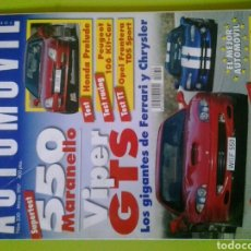 Coches: AUTOMÓVIL N 230 AÑO 1997 REVISTA DE COCHES. Lote 129636923