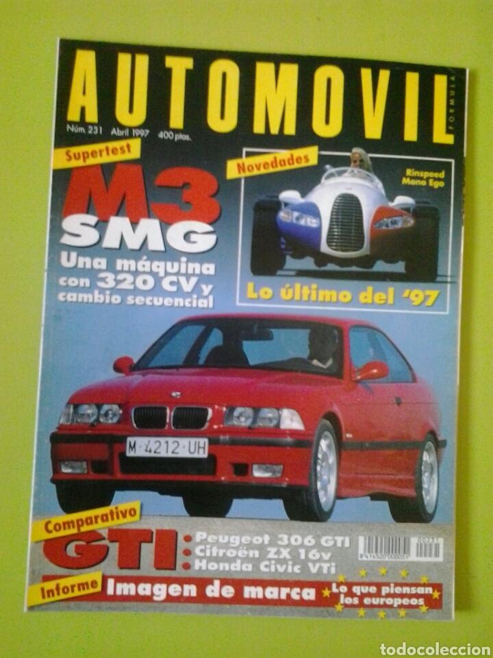 AUTOMÓVIL N 231 AÑO 1997 REVISTA DE COCHES (Coches y Motocicletas Antiguas y Clásicas - Revistas de Coches)