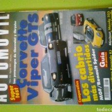 Coches: AUTOMÓVIL N 235 AÑO 1997 REVISTA DE COCHES. Lote 129637380