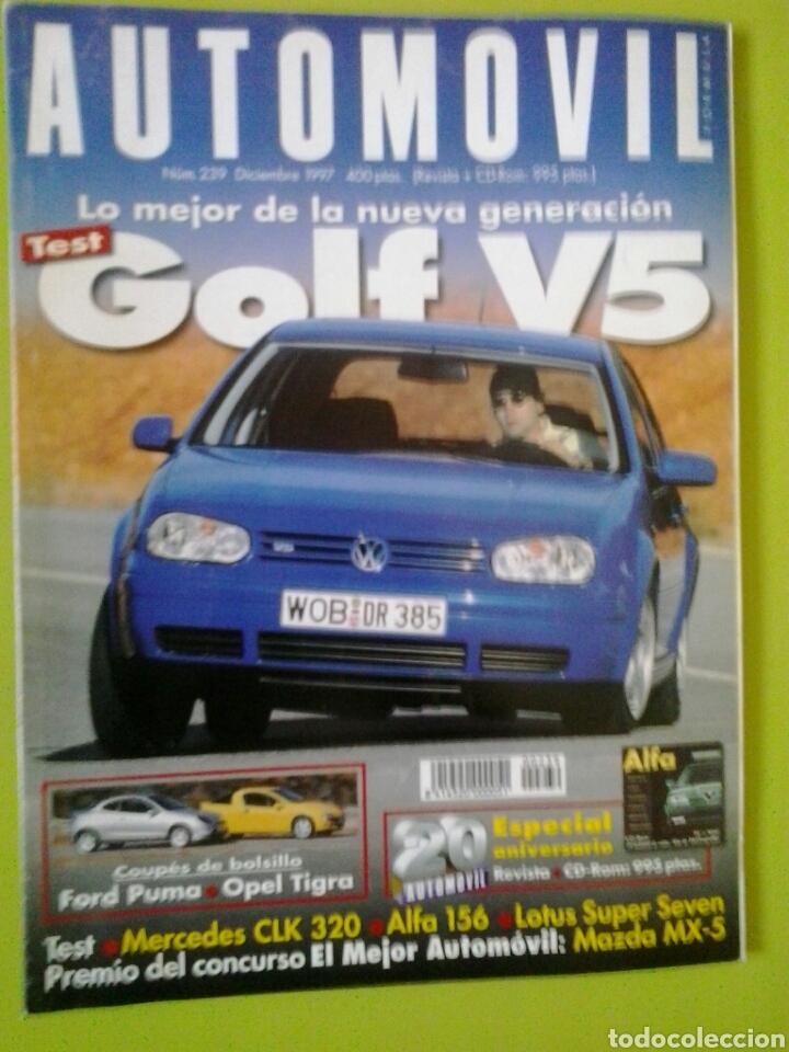 AUTOMÓVIL N 239 AÑO 1997 REVISTA DE COCHES (Coches y Motocicletas Antiguas y Clásicas - Revistas de Coches)