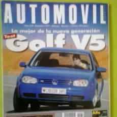 Coches: AUTOMÓVIL N 239 AÑO 1997 REVISTA DE COCHES. Lote 129637982