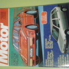 Coches: MOTOR MUNDIAL N 503 FEBRERO 1988 REVISTA DE COCHES. Lote 129657872