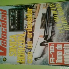 Coches: VELOCIDAD N 888 TALBOT HORIZON RENAULT 18 REVISTA DE COCHES. Lote 129658118