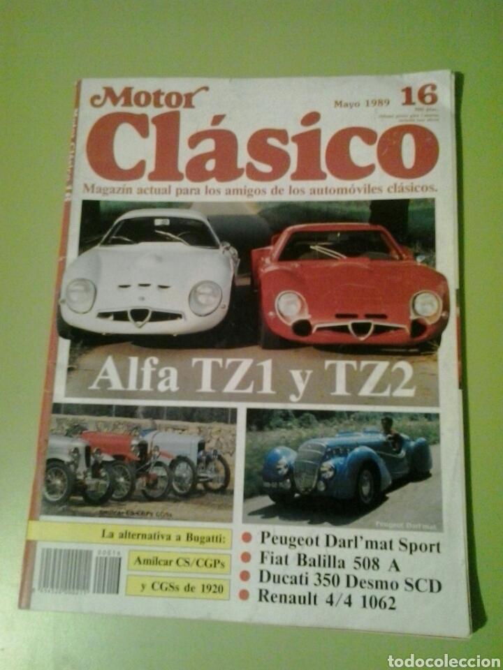 MOTOR CLÁSICO N 16 REVISTA DE COCHES (Coches y Motocicletas Antiguas y Clásicas - Revistas de Coches)