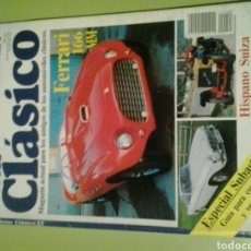 Coches: MOTOR CLÁSICO 27 N ABRIL 1990 FERRARI 166 MM. Lote 129658975