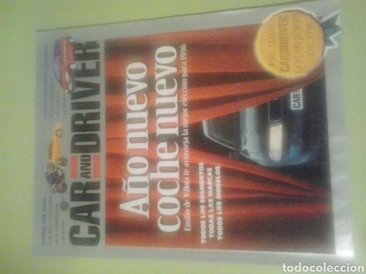 CAR AND DRIVER N 4 1996 (Coches y Motocicletas Antiguas y Clásicas - Revistas de Coches)