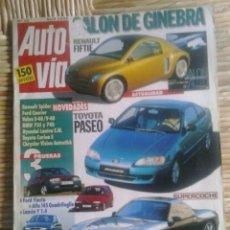 Coches: AUTO VIA 72 ABRIL 1996. Lote 129696854