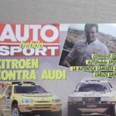 Coches: REVISTA AUTOMOVILES AUTO HEBDO SPORT NUMERO 274 14 JULIO 1990. Lote 130389014