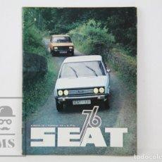 Coches: REVISTA DE COCHES - SEAT 76, NÚMERO 108. FEBRERO 1976 - PORTADA SEAT 131. Lote 130486194