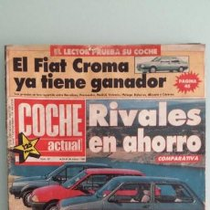 Coches: REVISTA COCHE ACTUAL 22 1988 FORD SIERRA COSWORTH, OPEL OMEGA 3000, PRUEBA TALBOT HORIZON LS. Lote 130731099