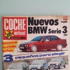Coches: REVISTA COCHE ACTUAL 89 1990 PORCHE CARRERA 2 Y 4, LUIS PÉREZ SALA, JORDI GENÉ, HARLEY SPORTSTER 883. Lote 130731839