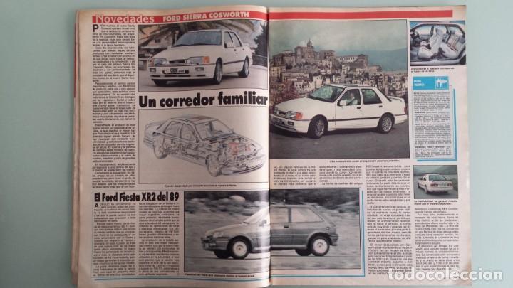 Coches: Revista Coche Actual 19 1988 Citroen BX GTI, Sierra Cosworth; Renault 21 Turbo y 5 GT Turbo - Foto 5 - 130732444