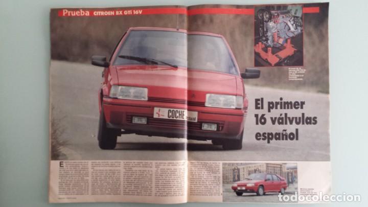 Coches: Revista Coche Actual 19 1988 Citroen BX GTI, Sierra Cosworth; Renault 21 Turbo y 5 GT Turbo - Foto 7 - 130732444