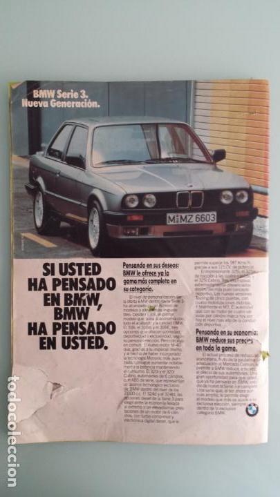 Coches: Revista Coche Actual 19 1988 Citroen BX GTI, Sierra Cosworth; Renault 21 Turbo y 5 GT Turbo - Foto 8 - 130732444